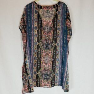 O'Neill Sheer Cover Up Size M Multi-Colored NWT